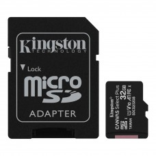 Kingston Micro SD kartica 32GB Klasa 10 sa NOOBS-om 3.3.1 za Rpi i SD adapterom  (Canvas Select Plus - SDCS2/32GB)