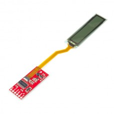 "SparkFun fleksibilna monohromatska OLED ploča – 1.81"" (SparkFun Flexible Grayscale OLED Breakout – 1.81"", LCD-14606)"