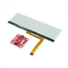 SparkFun transparentna OLED HUD ploča (Qwiic) (SparkFun Transparent OLED HUD Breakout (Qwiic), LCD-15079)