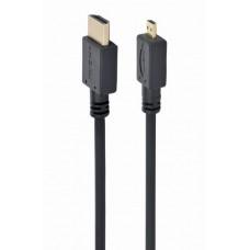 Mikro HDMI na HDMI kabl 1.8m crni  (Micro HDMI to HDMI cable black, 1.8m)