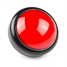 Big Dome Pushbutton - Red, COM-09181