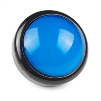 Big Dome Pushbutton - Blue, COM-11274