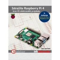 "Knjiga: ""Raspberry Pi4 - kroz 45 elektronskih projekata"""