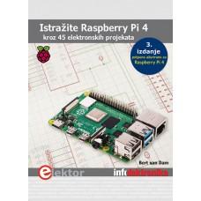 Raspberry Pi4 - kroz 45 elektronskih projekata