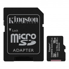 Kingston Micro SD kartica 16GB Klasa 10 sa SD adapterom  (Canvas Select Plus- SDCS2/16GB )