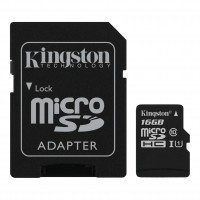 Kingston Micro SD flaš kartica 16GB Klasa 10 sa SD adapterom