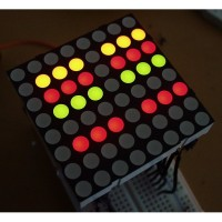 LED Matrica - dve boje - srednja (LED Matrix - Dual Color - Medium), COM-00682