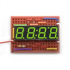 7-segmentni displej sa 4 cifre (zelene boje) (7-Segment Display - 4-Digit (Kelly Green)), COM-09482
