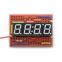 7-segmentni displej sa 4 cifre (bele) (7-Segment Display - 4-Digit (White)), COM-10931