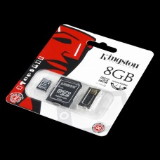 Kingstone prenosna fleš memorija od 8GB, sa USB adapterom (Kingstone Flash Memory - 8GB Mobility Pack, with USB Adapter), COM-11609