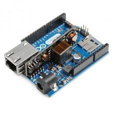 Arduino Ethernet sa PoE  (Arduino Ethernet with PoE), DEV-11361