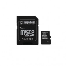 Kingston prenosna fleš memorija od 8GB sa SD adapterom (Kingston 8GB, microSDHC class10, SD Adapter)