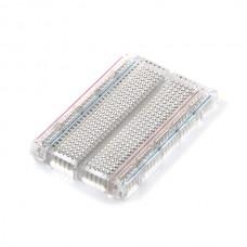 Transparentna samolepljiva protoploča (Breadboard - Translucent Self-Adhesive (Clear)), PRT-09567