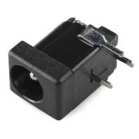 Cevasti konektor za DC napajanje (DC Barrel Jack Adapter - Breadboard Compatible), PRT-10811