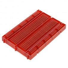 Transparentna samolepljiva protoploča - crvena (Breadboard - Translucent Self-Adhesive (Red)), PRT-11317