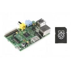 Komplet: Raspberry Pi (RPi) mini računar - Model B sa 8GB NOOBS SD karticom (Raspberry Pi Model B Kit with 8GB NOOBS SD Card)