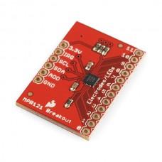 Ploča za kapacitivni senzor dodira MPR121(MPR121 Capacitive Touch Sensor Breakout Board), SEN-09695