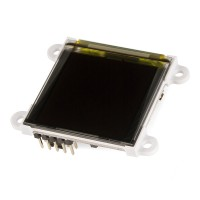 "Serial Miniature OLED Module - 1.5"" (μOLED-128-G2-GFX), LCD-11676"