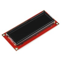 LCD crni displej sa 16x2 belih karaktera (Basic 16x2 Character LCD - White on Black 5V), LCD-00709