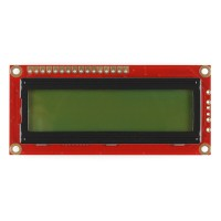LCD zeleni displej sa 16x2 crnih karaktera (Basic 16x2 Character LCD - Black on Green 5V), LCD-00255