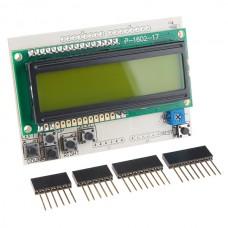 LCD ploča sa tasterima V2 (LCD Button Shield V2), DEV-13293