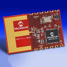 MRF24J40MA- 2.4 GHz IEEE 802.15.4 radio transceiver module