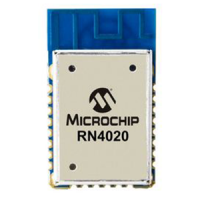 RN4020 - Bluetooth Version 4.1 low energy module
