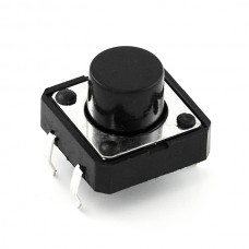 Trenutni prekidač 12mmx12mm (Momentary Push Button Switch - 12mm Square), COM-09190