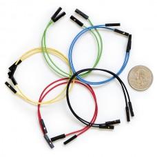 "Žičani kratkospojnici 6"" F/F 10 komada (Jumper Wires Premium 6"" F/F Pack of 10), PRT-08430"