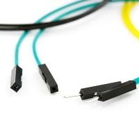 """Žičani kratkospojnik 6"""" M/F (Jumper Wires Premium 6"""" M/F Pack of 10), PRT-09140"""