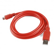 Sparkfun USB Mini B kabl 1.8m (SparkFun USB Mini-B Cable - 6 Foot), CAB-11301