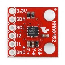 Troosni akcelerometar - Merač ubrzanja po tri ose - MMA8452Q (Triple Axis Accelerometer Breakout - MMA8452Q),  SEN-10955
