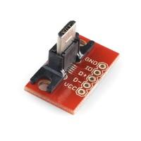 USB MikroB proto ploča (USB MicroB Plug Breakout Board), BOB-10031